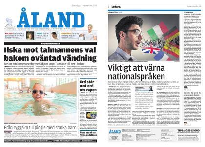 Ålandstidningen – 22 november 2018