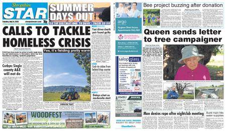 Shropshire Star Shrewsbury Edition – July 24, 2018