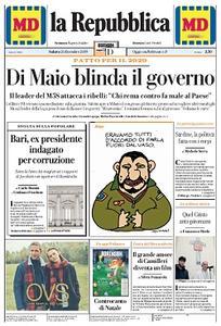 la Repubblica - 21 Dicembre 2019