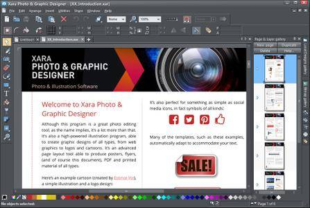 Xara Photo & Graphic Designer 365 12.7.0.50257