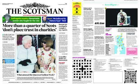The Scotsman – February 21, 2018