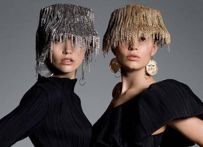 Various models by Inez van Lamsweerde & Vinoodh Matadin for Vogue US April 2017