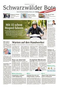 Schwarzwälder Bote Hechingen - 16. Mai 2019