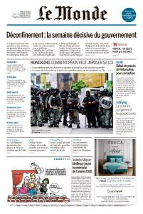 Le Monde du Mardi 26 Mai 2020