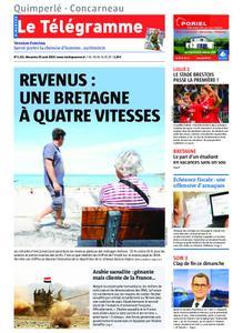 Le Télégramme Concarneau – 25 août 2019
