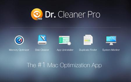 Dr. Cleaner Pro 1.1.3 Multilingual Mac OS X