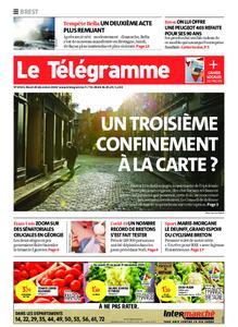 Le Télégramme Brest Abers Iroise – 29 décembre 2020