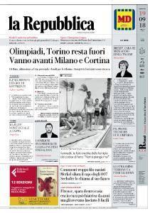 la Repubblica - 19 Settembre 2018