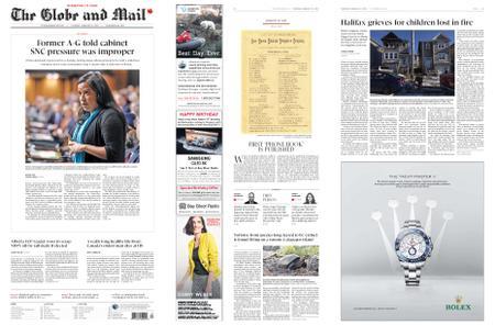 The Globe and Mail – February 21, 2019