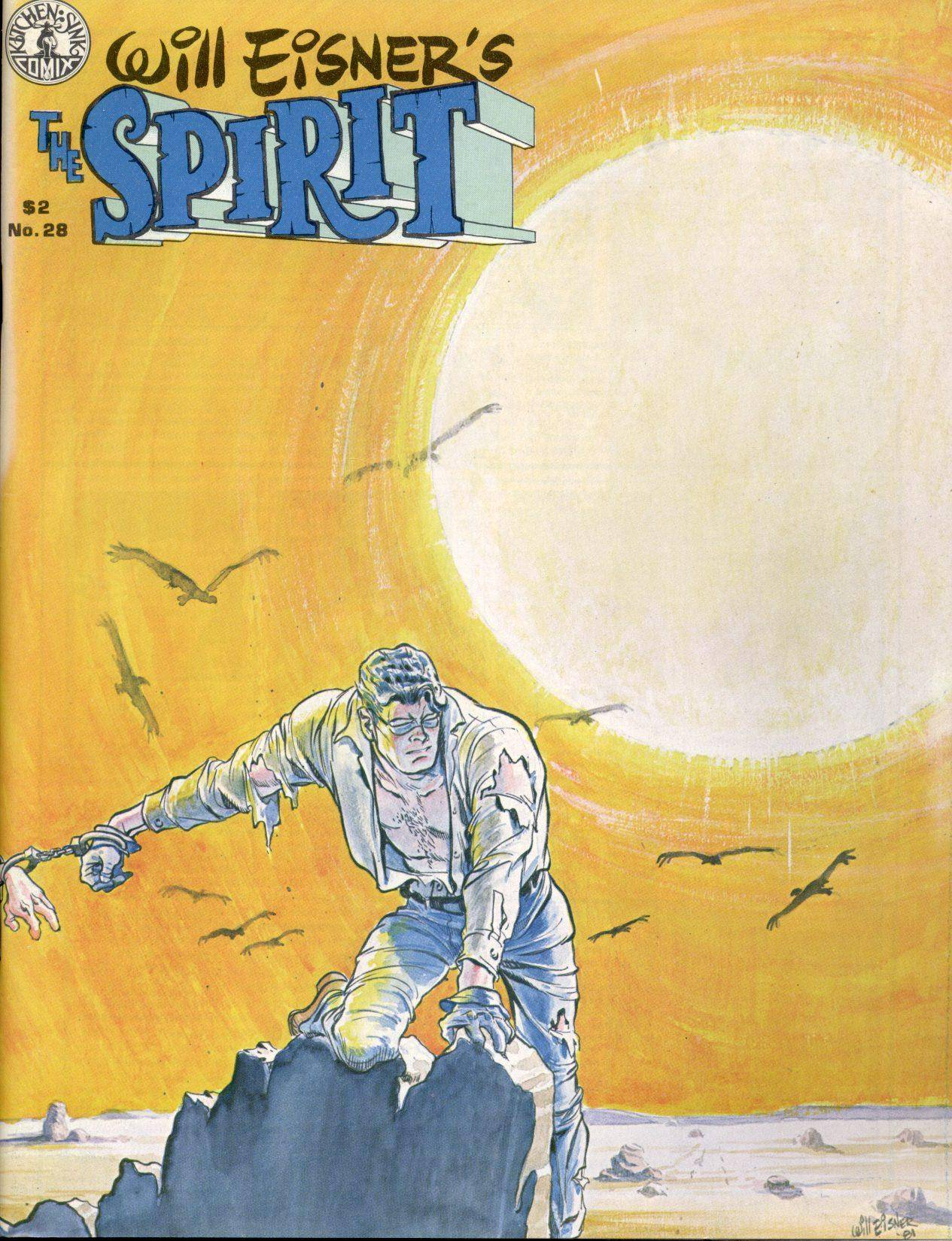 The Spirit 06-The Spirit Kitchen Sink Press1977-1998 [14 of 111] The Spirit Magazine v2 028 1981 Kitchen Sink DuckyWucky cbr