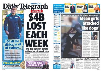The Daily Telegraph (Sydney) – May 05, 2020