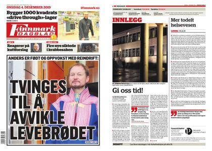 Finnmark Dagblad – 04. desember 2019