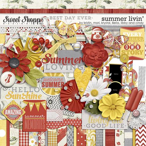 Scrap Kit: Summer Livin'