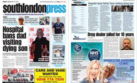 South London Press – February 23, 2018