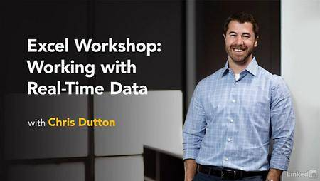 Lynda - Excel Workshop: Working with Real-Time Data