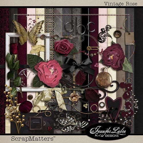 Scrap Kit: Vintage Rose