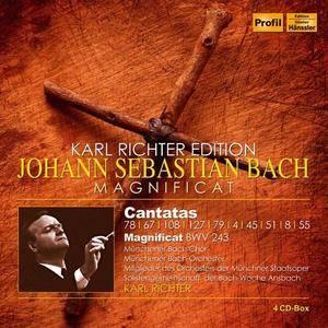 Karl Richter Edition - Bach: Cantatas & Magnificat (4 CDs, 2018)