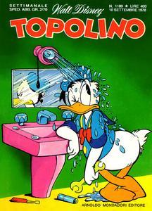 Topolino 1189 - Zio Paperone e l'acqua quietante (p.1) (09-1978)