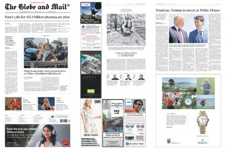 The Globe and Mail – June 13, 2019
