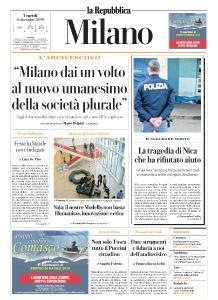 la Repubblica Milano - 6 Dicembre 2019