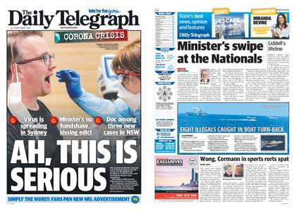 The Daily Telegraph (Sydney) – March 03, 2020