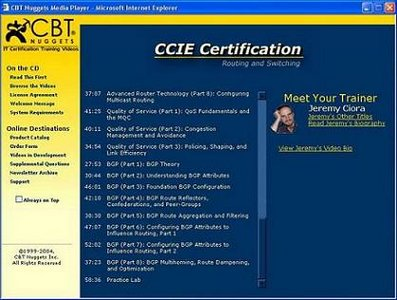 CBT Nuggets - CCIE Certification Package