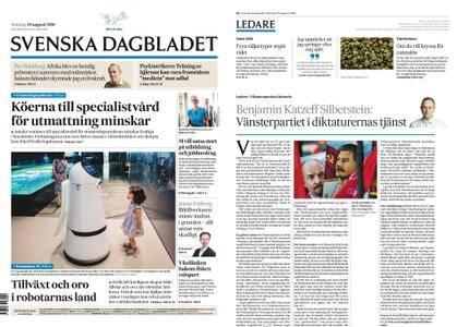 Svenska Dagbladet – 20 augusti 2018