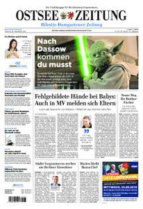 Ostsee Zeitung Ribnitz-Damgarten - 18. September 2019