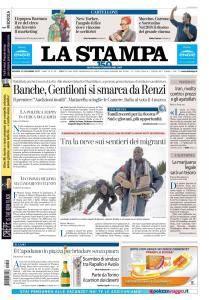 La Stampa Torino Provincia e Canavese - 29 Dicembre 2017