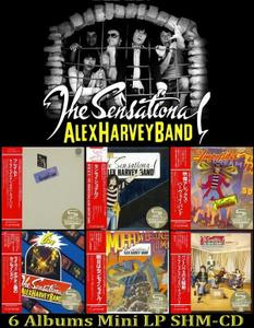 The Sensational Alex Harvey Band: Collection (1972-2008) [6 Japanese SHM-CD + 3xDVD]