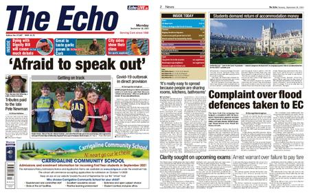 Evening Echo – September 28, 2020