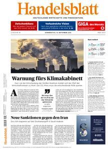 Handelsblatt - 19. September 2019