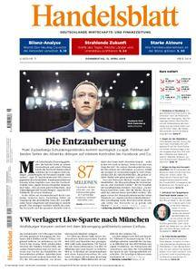 Handelsblatt - 12. April 2018