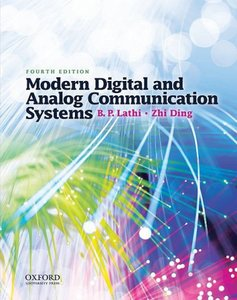 Modern Digital and Analog Communication Systems (4th edition) (Repost)