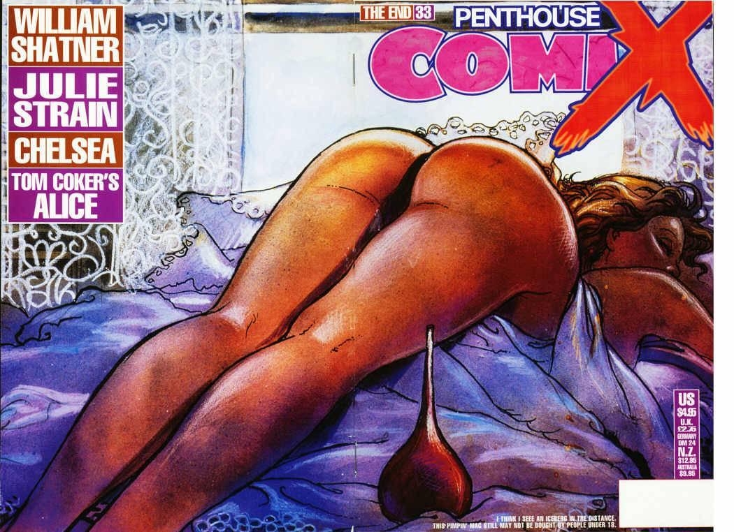 Penthouse Comix #27 to #33
