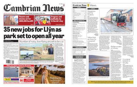 Cambrian News Arfon & Dwyfor – 06 March 2020