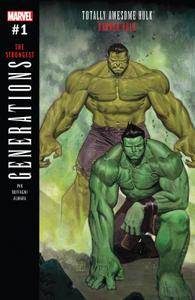 Generations - Banner Hulk  The Totally Awesome Hulk 001 2017 Digital