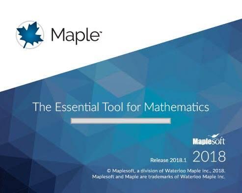 Maplesoft Maple 2018.2
