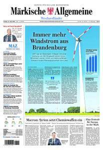 Märkische Allgemeine Westhavelländer - 13. April 2018