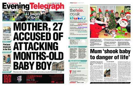 Evening Telegraph First Edition – November 20, 2017