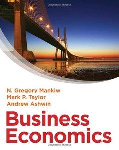 Business Economics (Repost)
