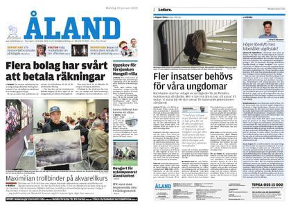 Ålandstidningen – 20 januari 2020