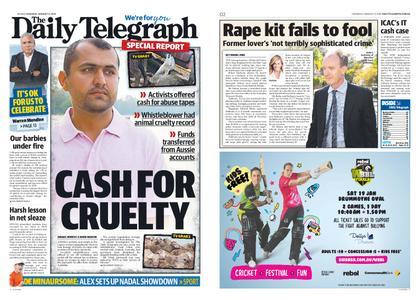 The Daily Telegraph (Sydney) – January 17, 2019