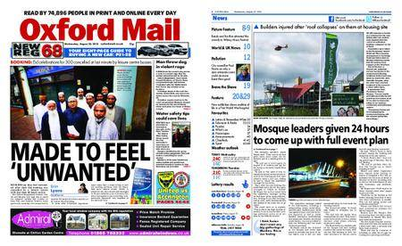 Oxford Mail – August 22, 2018