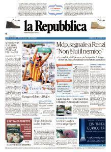 la Repubblica - 22 Ottobre 2017