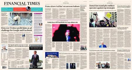 Financial Times Europe – 09 February 2018