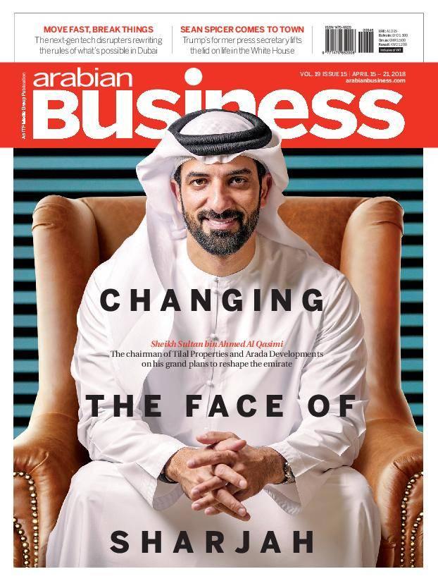 Arabian Business – April 15, 2018