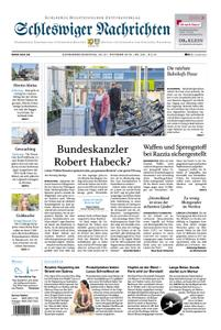 Schleswiger Nachrichten - 20. Oktober 2018