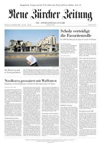 Neue Zürcher Zeitung International - 14 September 2021