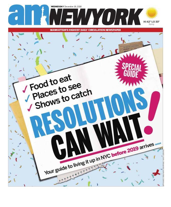 AM New York - December 26, 2018